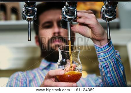 Beer, tap, alcohol, bar, bartender, brewer, craft, foam, fresh, hops, host, malt, production