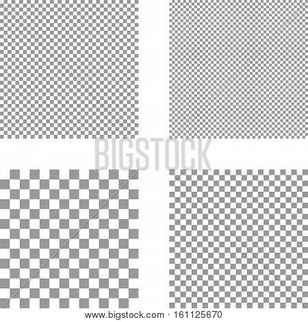 pixel gray square seamless background, white and gray squares seamless pattern background, vector seamless template set