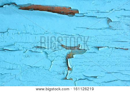 Old painted wood panel background. Design texture.