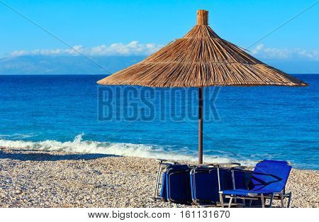 Summer Morning Beach (albania).
