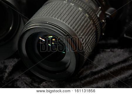 Details Of A Camera Reflex