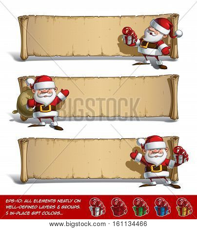 Happy Santas Papyrus - Gift Set