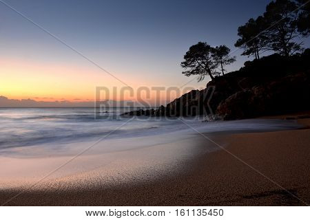 Dawn On The Costa Brava