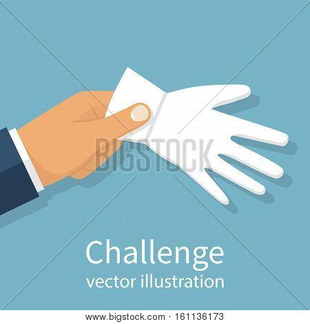 Challenge To Duel. Vector