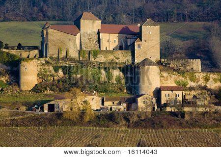 Berze-le-Chatel, Burgundy, France