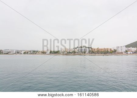 Beach In Es Canar