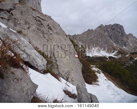 Early Winter Trekking In Beautiful Salzkammergut