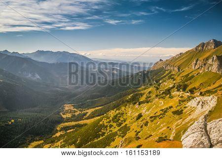 Mountainous Landscape In Slovakia