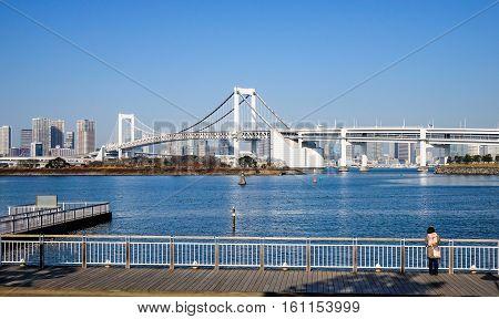 Tokyo Bay, View From Odaiba Island