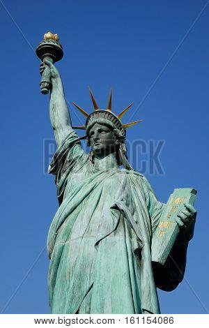 Statue Of Liberty In Tokyo, Japan