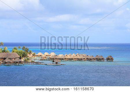 Bungalows On Bora Bora