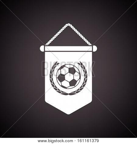 Football Pennant Icon