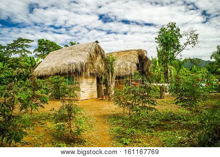 Wooden Houses In Bolivia
