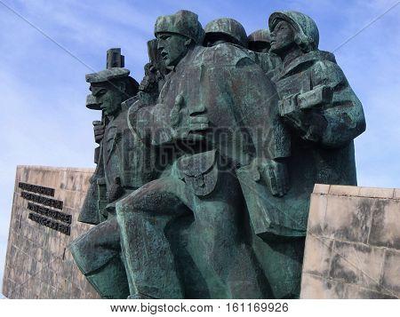 Novorossiysk, Russia - August 03, 2016: Memorial