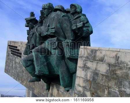 Novorossiysk, Russia - August 03, 2016: Memorial