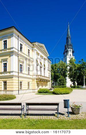Town Hall Square, Spisska Nova Ves, Slovakia