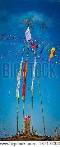 Bamboo Sticks With Cloth