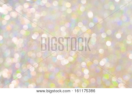 Light Colorful Background Soft Blurred Bokeh Abstract Defocused Lights Texture