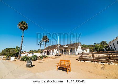 Old Town San Diego under a clear sky California