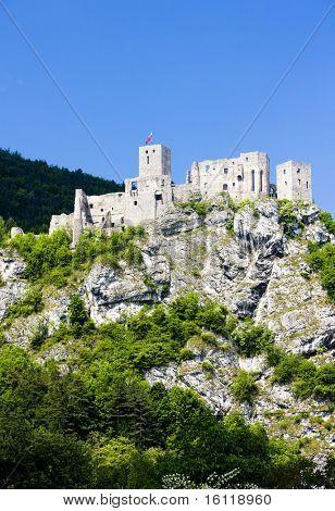 ruins of Strecno Castle, Slovakia