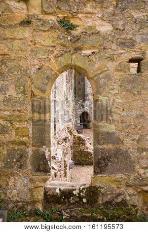 BODIAM, UK - 1 MAY, 2016:   Bodiam Castle 14th-century moated fortification