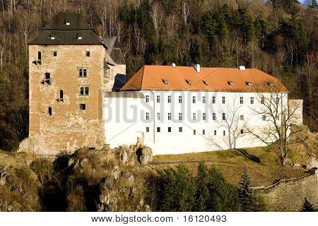 castle Becov nad Teplou, Czech Republic poster