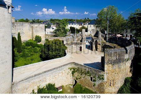 Chateau de Montreuil-Bellay, Pays-de-la-Loire, France