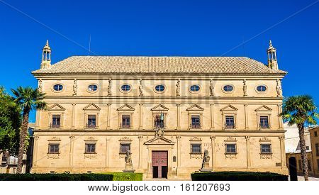 Palacio de las Cadenas or Vazquez de Molina Palace in Ubeda, Spain