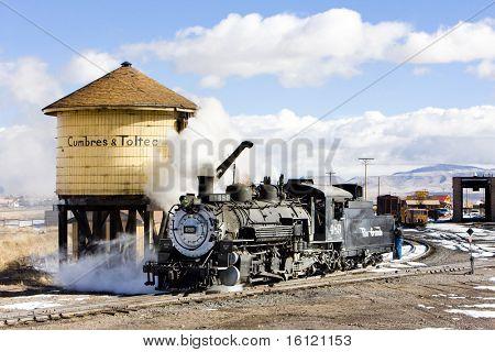 Cumbres and Toltec Narrow Gauge Railroad, Antonito, Colorado, USA