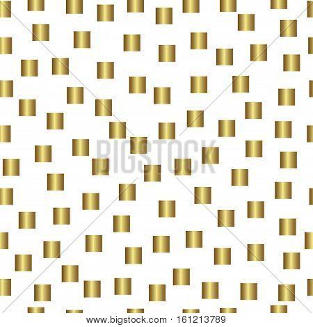Gold seamless pattern, golden style background  illustration, foil design