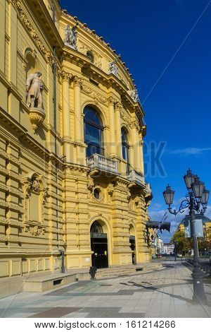 Building of the National Theatre in Szeged, Hungary