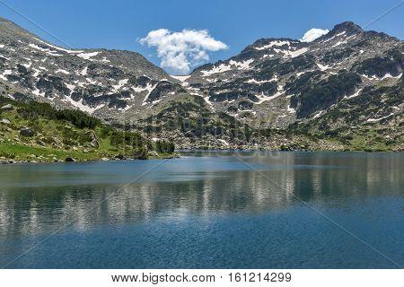 Amazing Panorama of Demirkapiyski chukar peak and Popovo lake, Pirin Mountain, Bulgaria