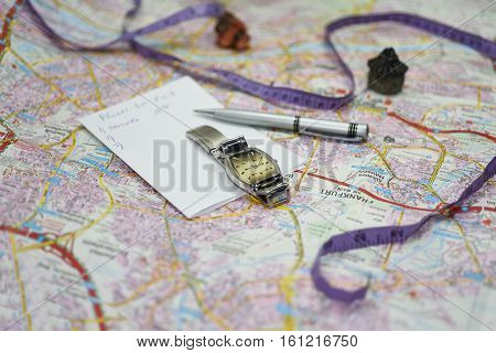 Planning Route Of City Visiting.