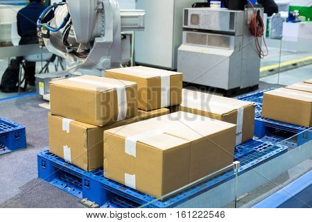 artificial intelligence equipment in warehouse
