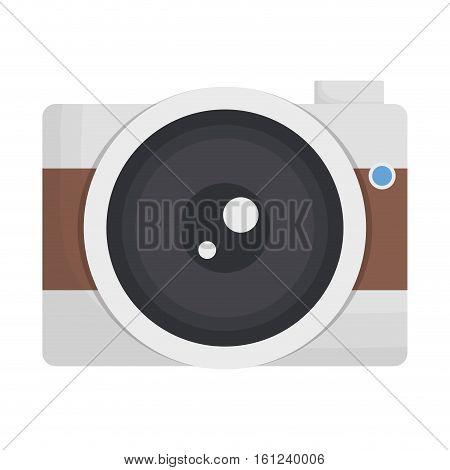 photographic camera icon image vector illustration design