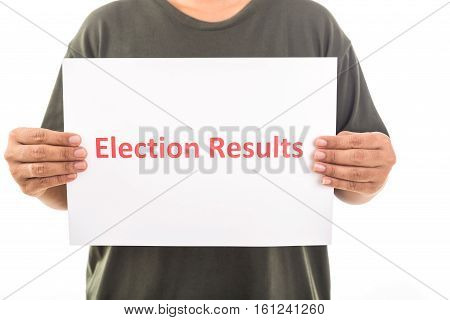 People Holding Tear Paper With Word