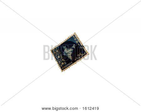 25Np Indian Postal Stamp