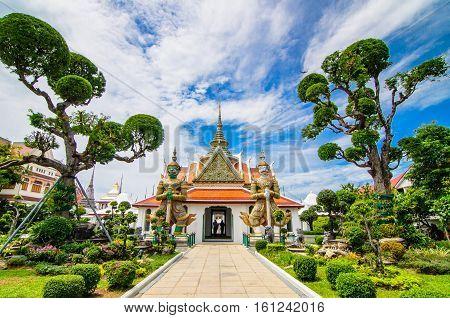 Wat Arun is a Buddhist temple in Bangkok Yai district of Bangkok, Thailand