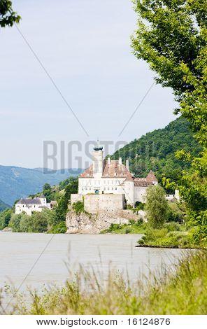 Schoenbuehel Castle on the Danube river, Lower Austria, Austria