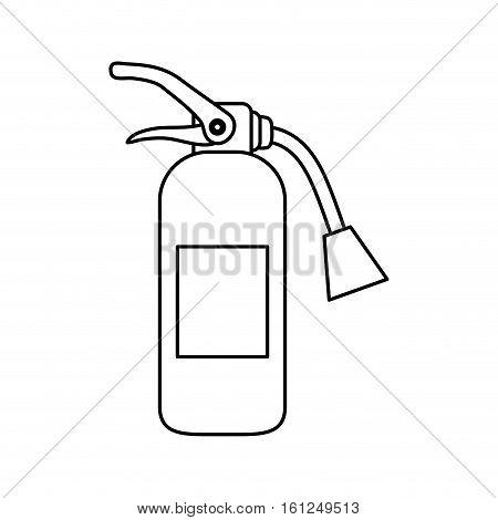 Fire extinguisher equipment icon vector illustration graphic design