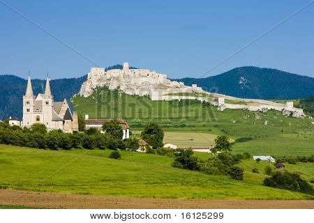 Chapter Spisska and Spissky Castle, Slovakia
