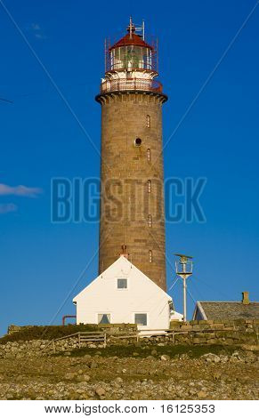 lighthouse, Lista, Norway poster