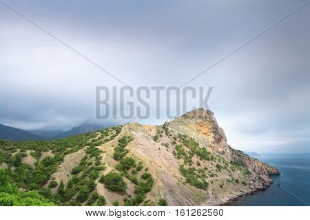 mountain Koba Kai / bright summer photo trip to the Crimea