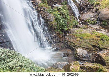 Wachirathan waterfall doi inthanon national park, Chomthong Chiang mai,Thailand