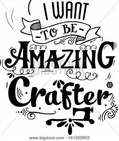 i want to be amazing crafter icon