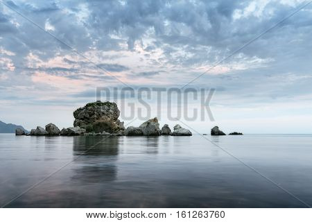 Sudak crab island / evening photo trip to the Crimea