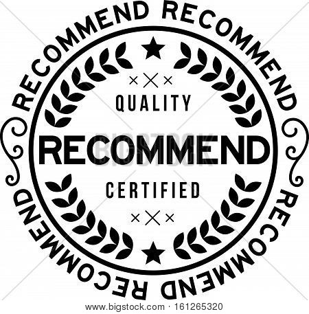 recommend black icon vintage rubber stamp guarantee