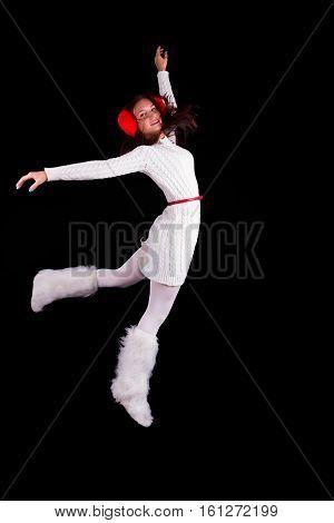 Christmas Elf Acrobat