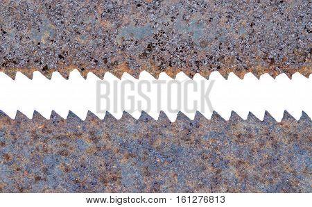 Metal Rust Old Saw