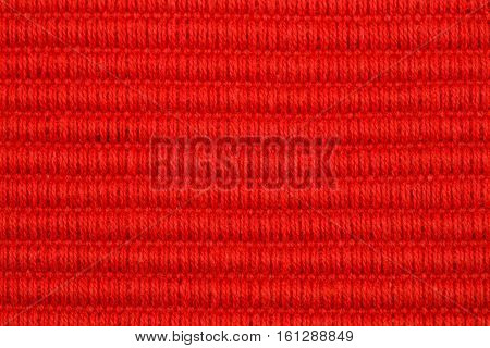 Fabric place mat texture for background close-up image.